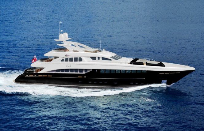Luxury superyacht BLISS available in the Eastern Mediterranean this Easter vacations
