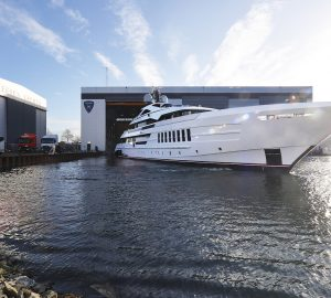 HEESEN presents 55m Steel Class motor yacht VIDA (Project Antares)