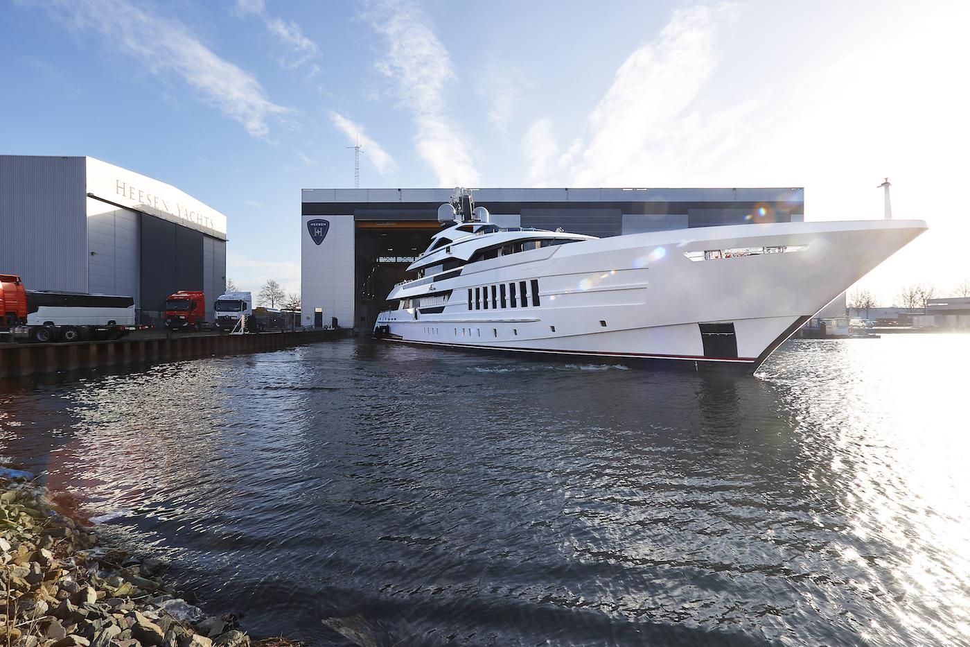 Heesen yachts motor yacht VIDA