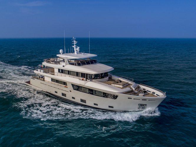 Luxury yacht MIMI LA SARDINE © Cantiere delle Marche _ Maurizio Paradisi