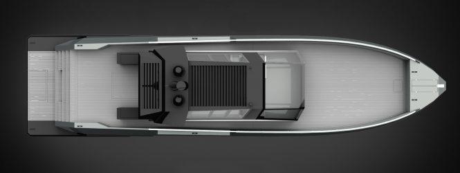 MAZU 82 luxury yacht - rendering - © Mazu Yachts