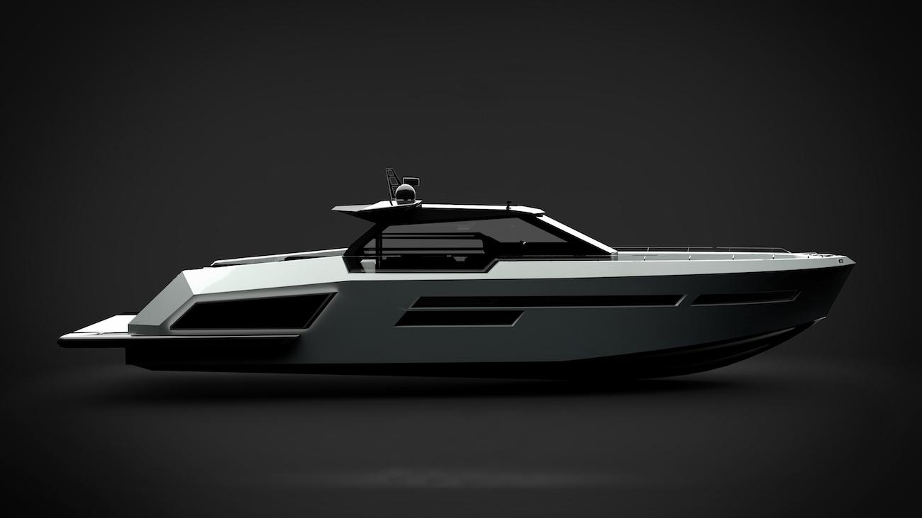 MAZU 82 - rendering - © Mazu Yachts