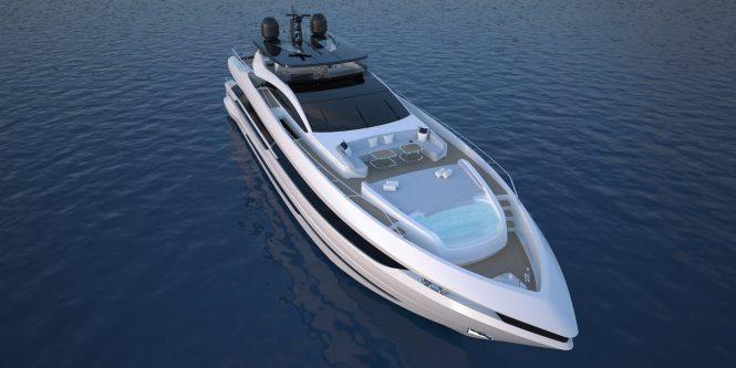 In Focus: The New Mangusta GranSport 33 motor yacht
