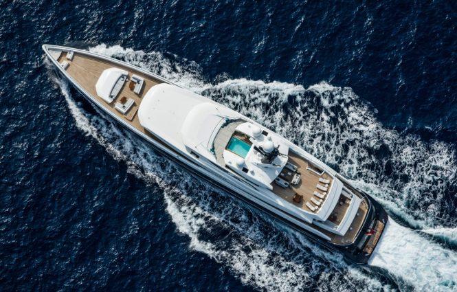 Mega yacht ELANDESS