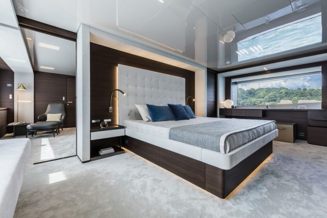 Modern accommodation with clean design and plenty of daylight