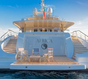 Special Mediterranean deal with outstanding 47m Benetti charter yacht AFRICA I