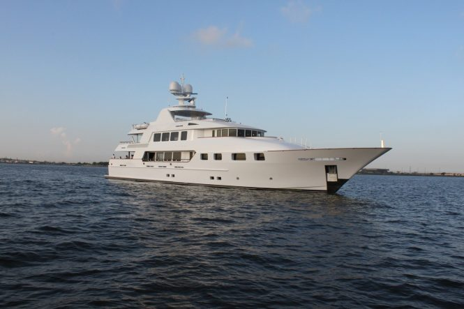 Motor yacht AQUASITION offering unforgettable charters in the Bahamas