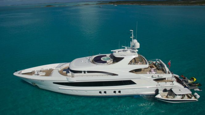 Motor yacht BIG SKY with a great selection of water toys