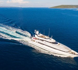 'No delivery fees' with 40m charter yacht BRAZIL in the Adriatic