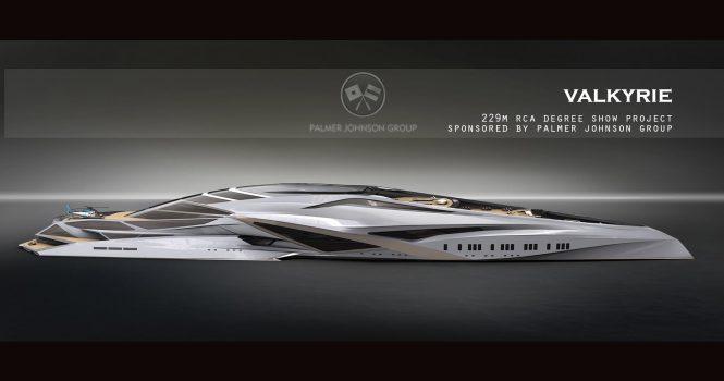 Motor yacht concept VALKYRIE © Chalhun Design