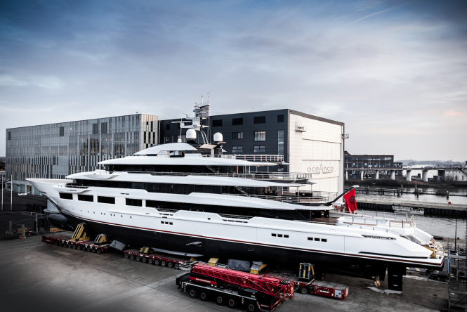 Photo © Guillaume Plisson / Oceanco - mega yacht DREAMBOAT