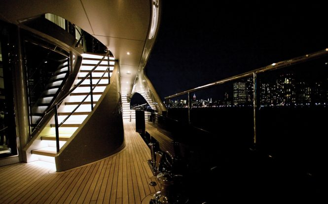 On deck by night
