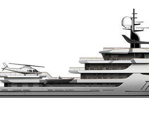 September 2019 launch date set for superyacht Project Ragnar from Icon Yachts