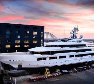 Oceanco launch 90m mega yacht DREAMBOAT