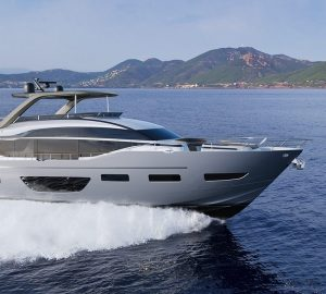 Aboard the new Y85 motor yacht from Princess Yachts