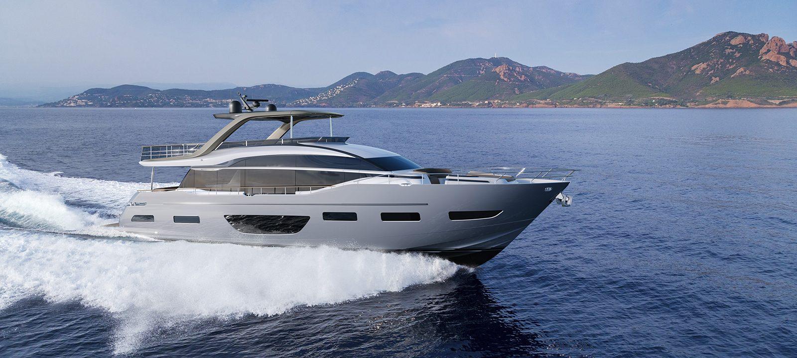Princess Y85 yacht © Princess Yachts