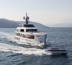 55m  Admiral motor yacht QUINTA ESSENTIA offering reduced early-bird Med summer rates