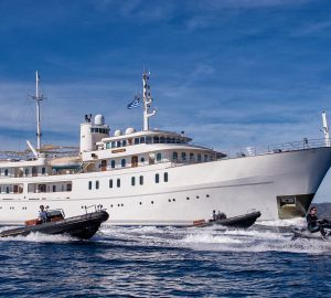 70m SHERAKHAN offering unbeatable Cannes Film Festival yacht charter special