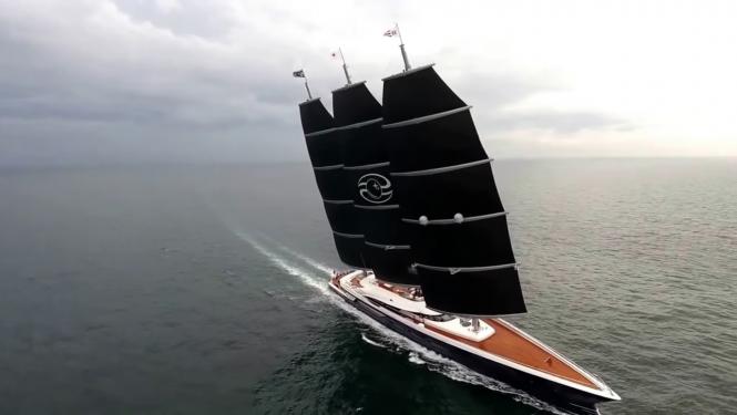 Sailing yacht BLACK PEARL