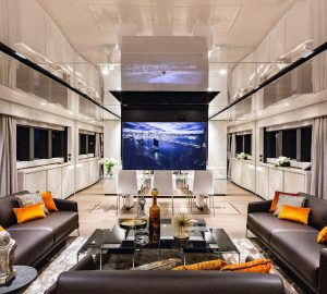 The cutting edge security and comfort systems aboard motor yacht Cecilia
