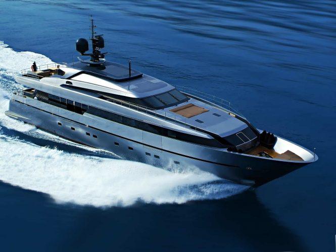 Sanlorenzo motor yacht 4A