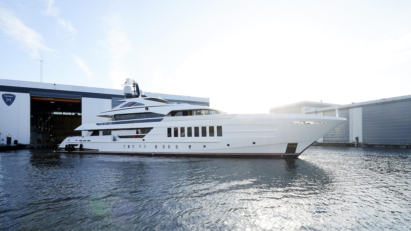 Heesen yachts unveil 55m superyacht VIDA