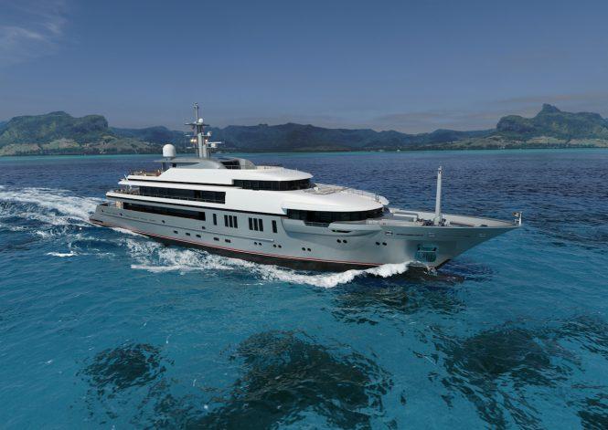 VSY64M motor yacht - © VSY