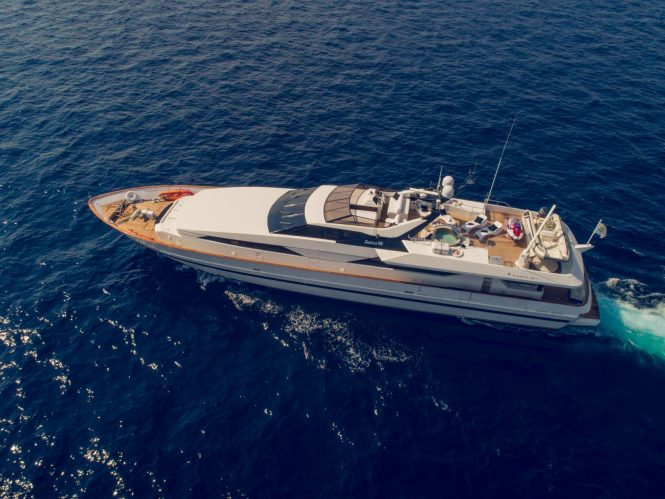 36m ANDREA available for charter in Greece
