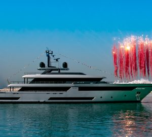 Carlo Riva's dream superyacht 50m RACE launched at Riva
