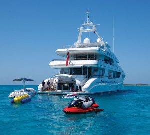 Luxury yacht Amica Mea ready for Western Mediterranean charters after refit