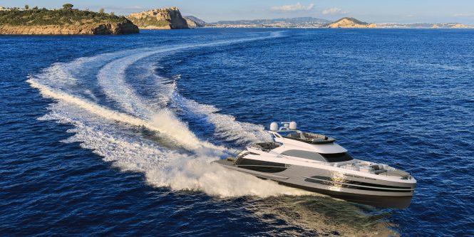 Beachclub 660 Flybridge motor yacht