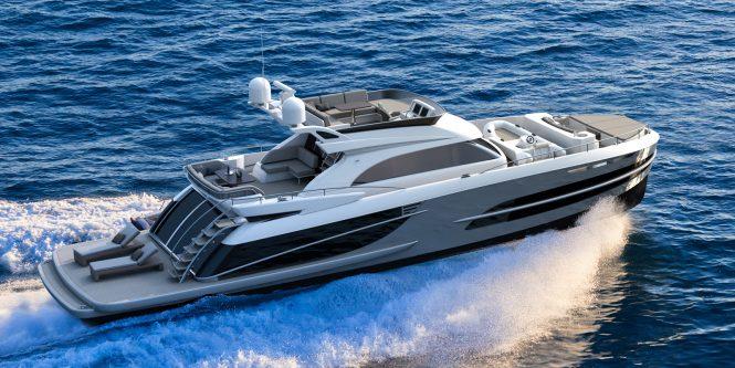 Beachclub 660 Flybridge yacht