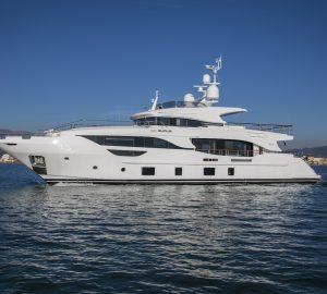 Benetti delivers fourth Delfino 95', superyacht EURUS