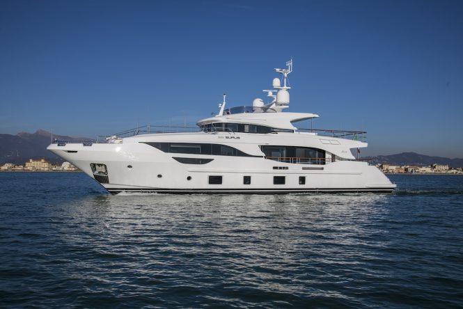 Benetti Delfino BD104 motor yacht EURUS