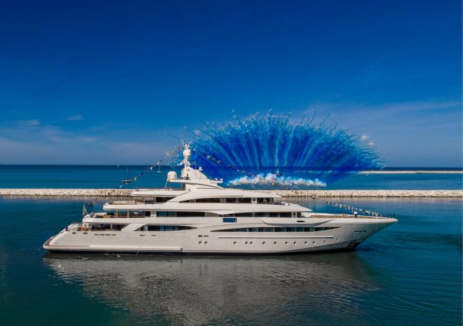 CRN 135 superyacht launched - Photo © CRN Yachts