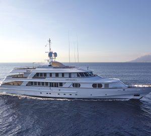 Enjoy an Eastern Mediterranean charter discount with 48m superyacht LADY ELLEN II