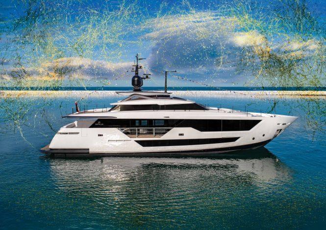 Custom Line 106' motor yacht Launch
