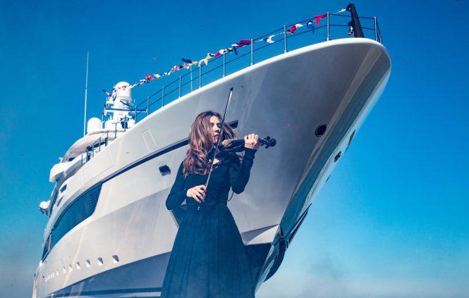DRAGON Sport Hybrid 40 yacht launch ceremony