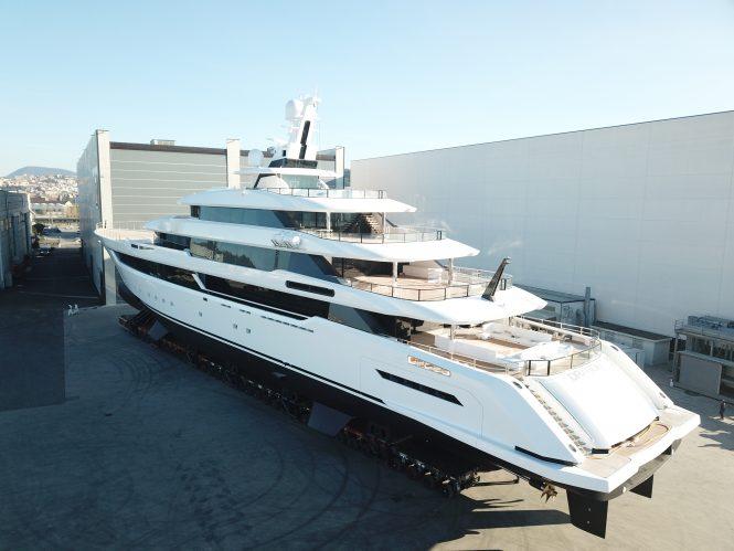 DRAGON superyacht - an 80m Columbus Classic - Photo © Columbus Yachts
