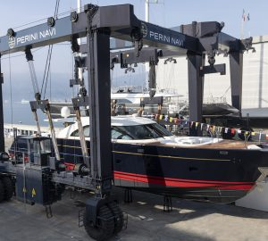 Perini Navi launch new 25-metre Eco Tender for a 52m sailing yacht