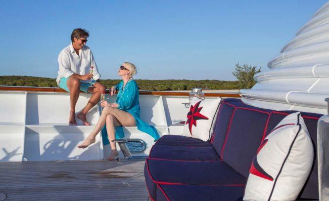 Enjoying the superyacht lifestyle