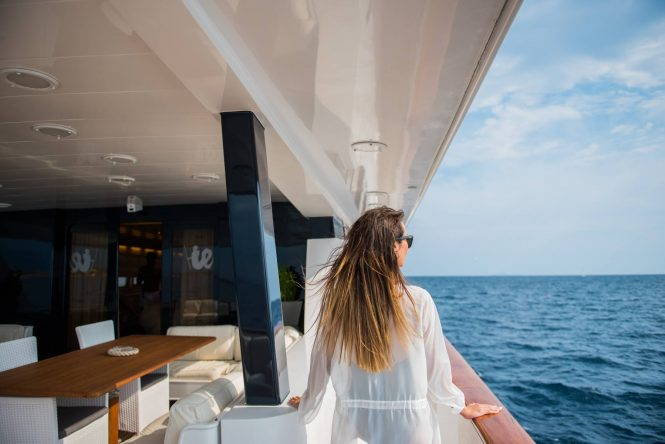 Enjoying the superyacht lifestyle aboard motor yacht ANDREA