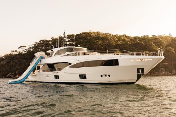 Gulf Craft Yacht ONEOWORLD - With water slide