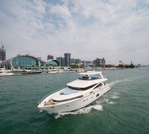 Johnson Yachts launches 'entry-level' motor yacht Johnson 80 in Taiwan