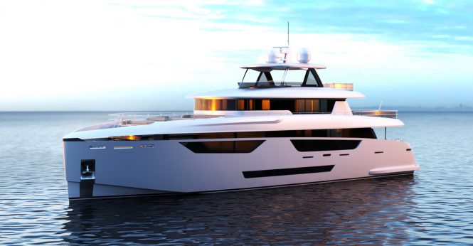 Johnson 115 superyacht