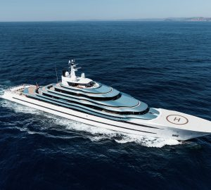 110m Mega Yacht Jubilee to be redelivered in 2020