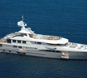Brand-new 55m Superyacht PAPA to charter in the Mediterranenan