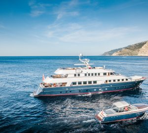 Newly refitted classic motor yacht Chesella ready for Western Mediterranean charters