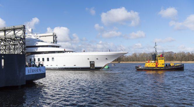 MADSUMMER yacht at her launch - Photo © Klaus Jordan