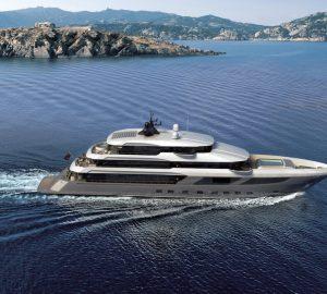 Construction update: Mega yacht Majesty 175
